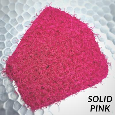 Solid Pink Scrubbie