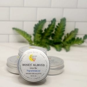 Honey Almond Lotion Bar