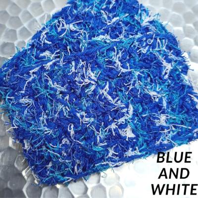 Blue and White Scrubbie