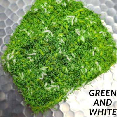 Green and White Scrubbie