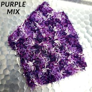 Purple Mix Scrubbie
