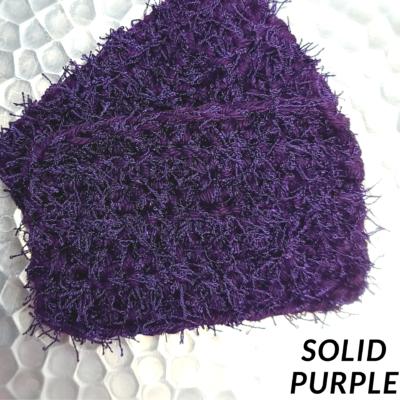 Solid Purple Scrubbie