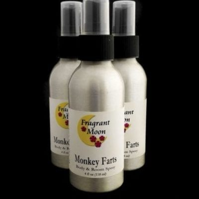 Monkey Farts Body and Room and Linen Spray